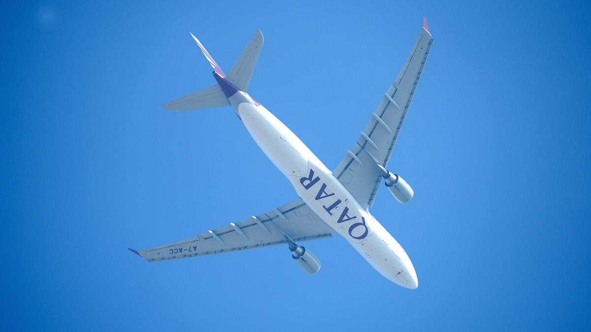 File- A Qatar Airways plane.