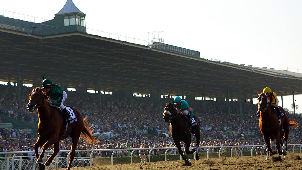 Newsom Signs Bill Allowing State Board to Suspend Horse Racing at Tracks