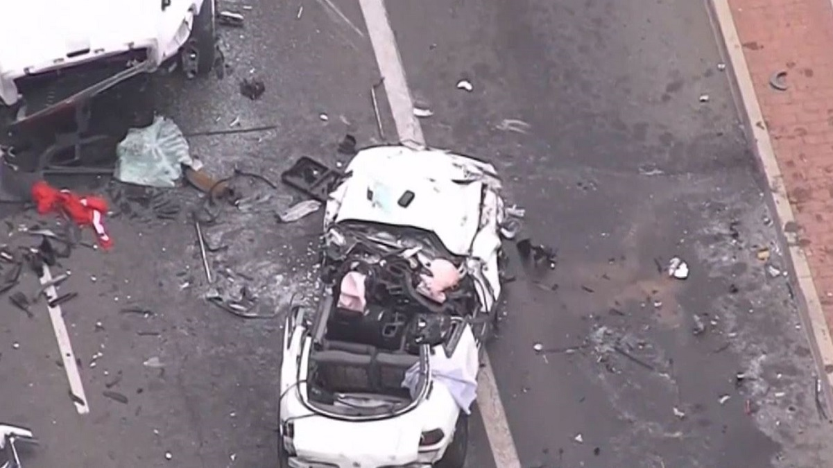 Good Samaritans Flip Car, Help Save Victims of Crash in Santa Ana