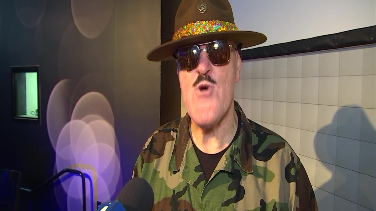 WWE Legend Sgt. Slaughter, One of Wrestling's Icons, Visits Fans in Ontario