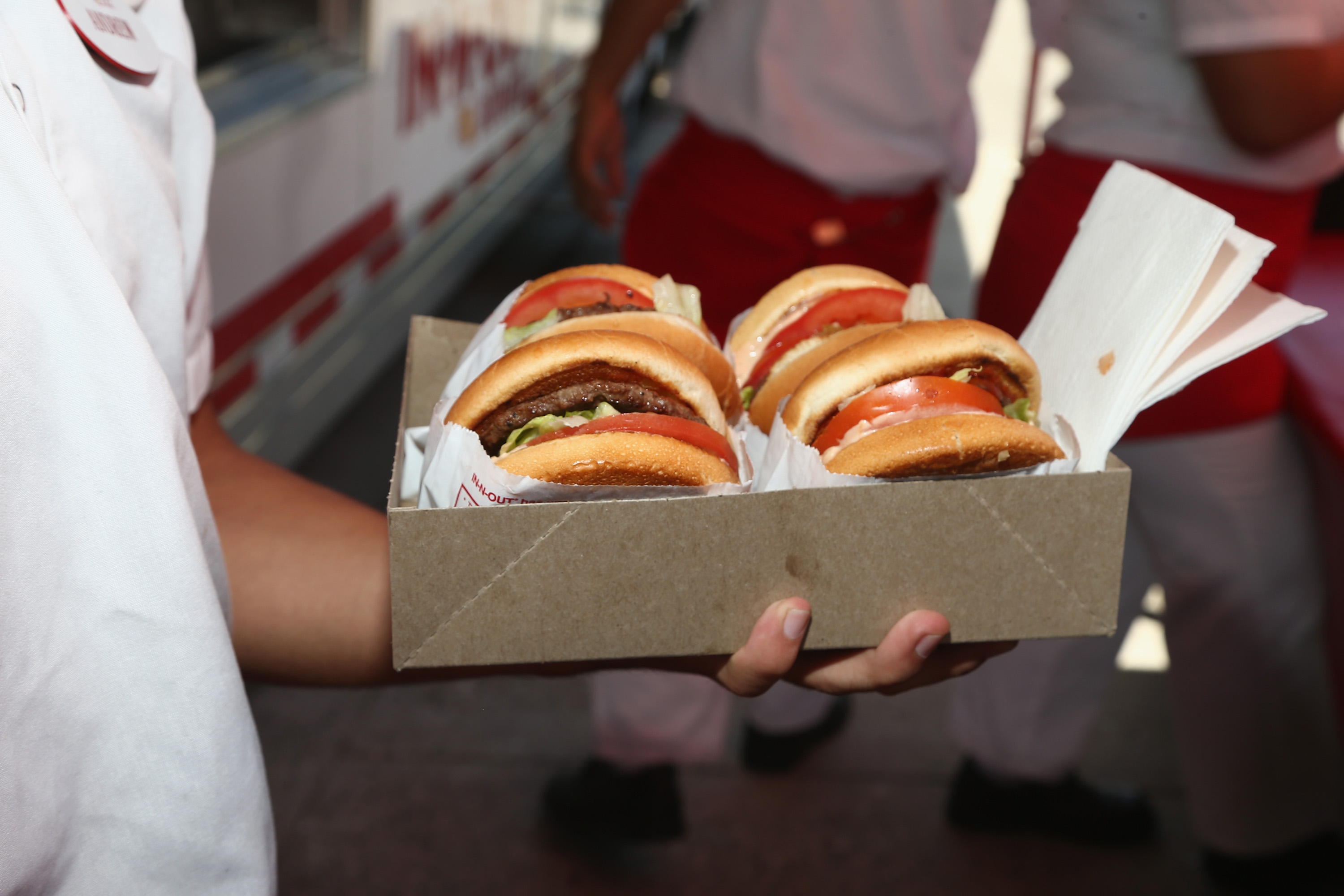In-N-Out Burger at Safe Kids Day 2017 at Smashbox Studios on April 23, 2017 in Culver City, California. (Photo by Tommaso Boddi/Getty Images for Safe Kids Worldwide )