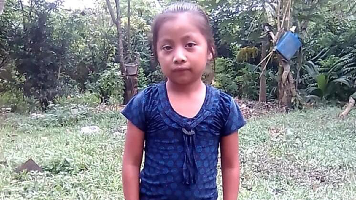This undated photo obtained by Telemundo Network News and confirmed by officials with the Guatemalan consulate in Del Rio, Texas, shows Jakelin Caal Maquin of Guatemala. Seven-year-old Jakelin died two days after she and her father were taken into custody by U.S. Customs and Border Patrol along a remote stretch of the U.S. border.