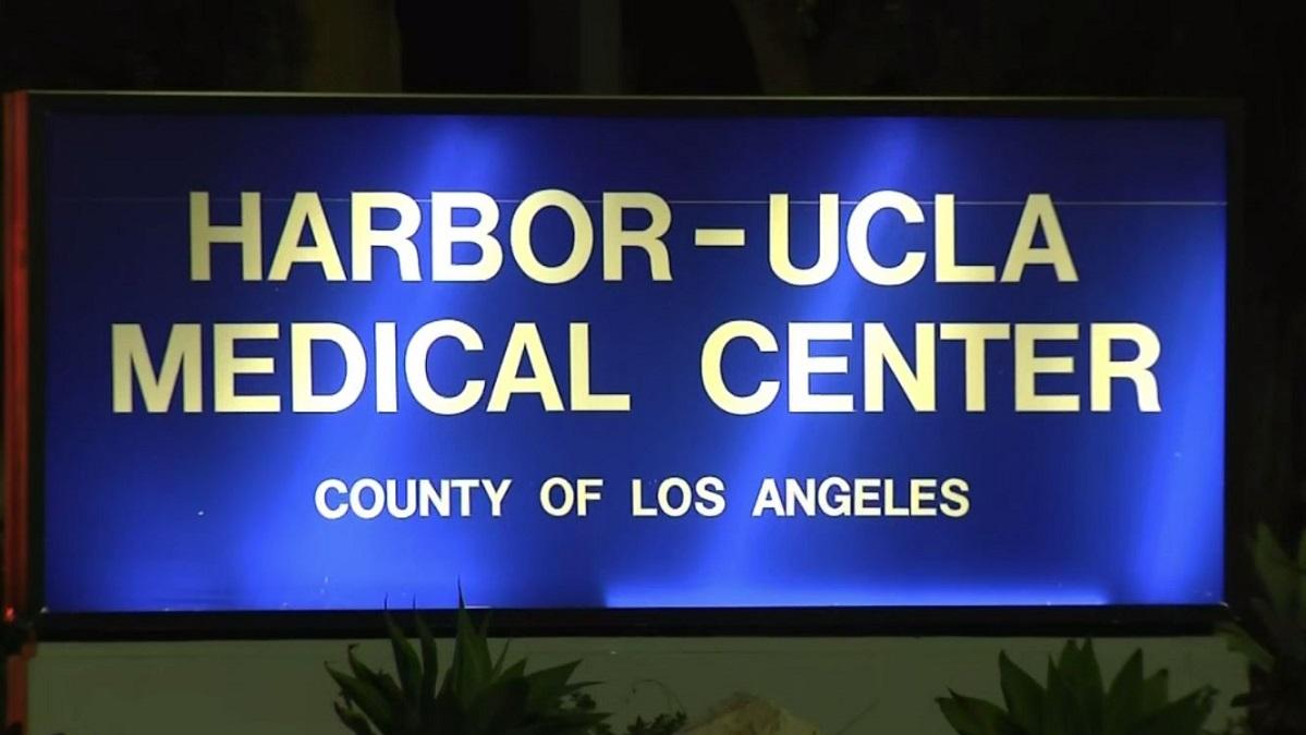 Harbor-UCLA Medical Center on Dec. 25, 2018.