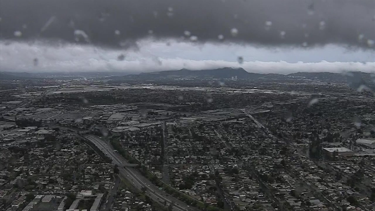 Watch: A Tour of Southern California After Hours of Rainfall