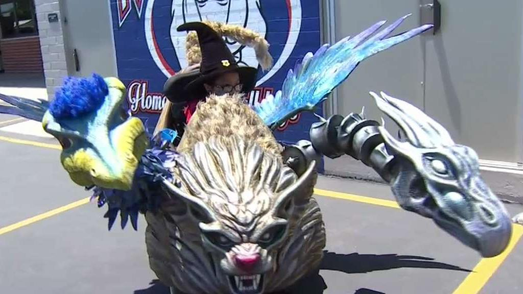 Magical transformation comes to young Garden Grove student