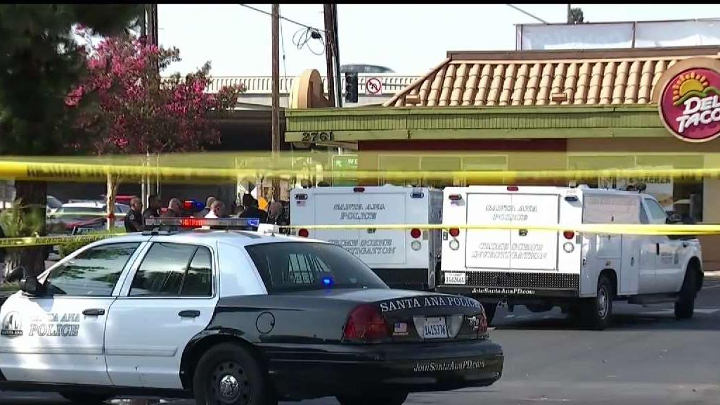 Man Collapses on Pavement After Police Pursuit in Santa Ana