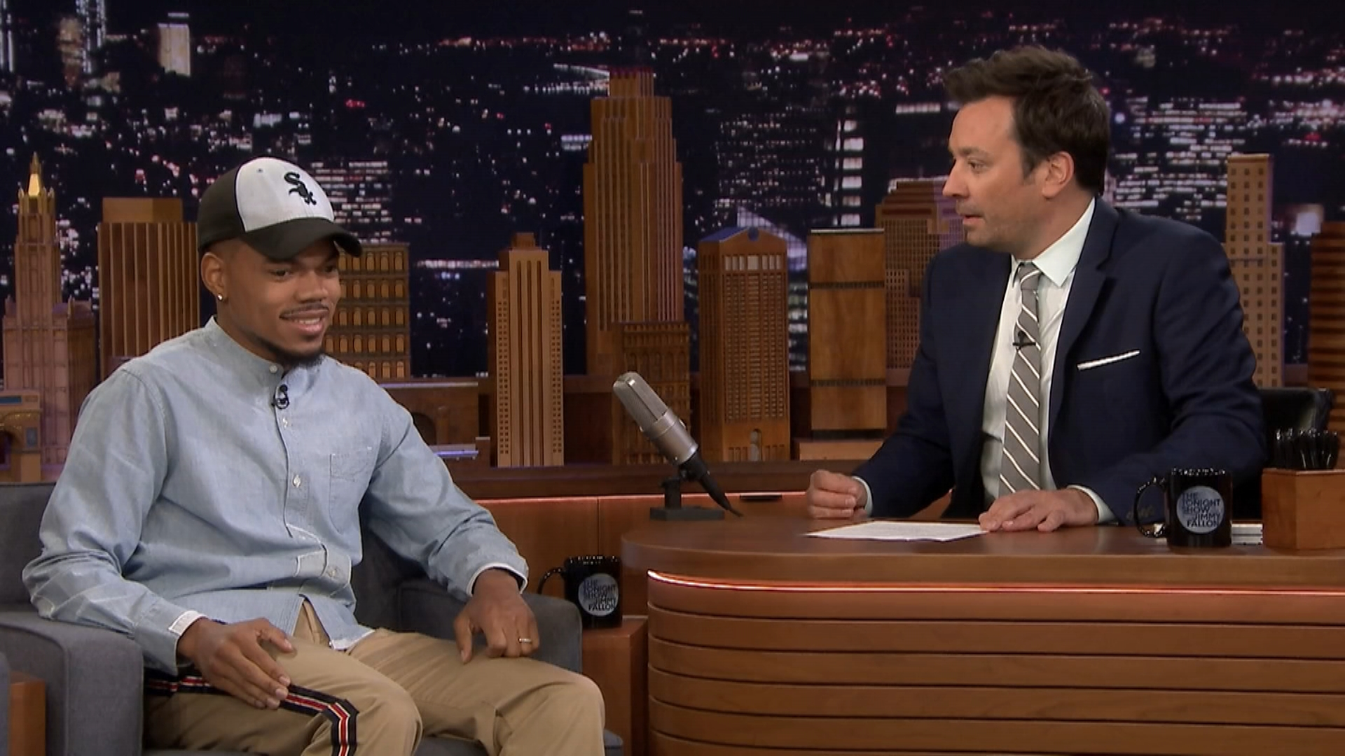Chance the Rapper to Namesake Alligator: 'Keep Your Head Up'