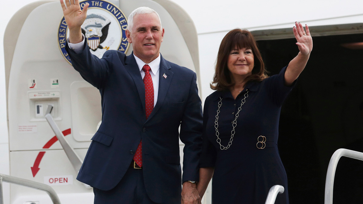 Pence: Criticism of Wife's New Job 'Deeply Offensive'