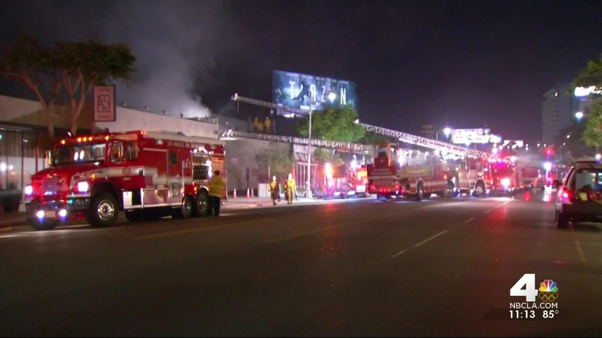 Fire Burns Almost Century-Old Flower Shop in Pico