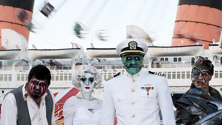Dark Harbor opens at the Queen Mary on Sept. 27, delivering mazes, entertainment, and a cast of terror-delivering returning characters that are highly haunting and thematic to the ship.