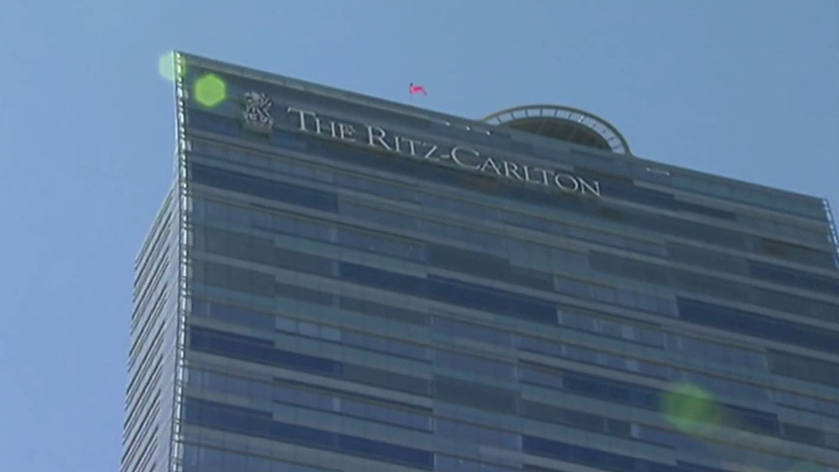 An employee of the Ritz-Carlton Hotel is accused of sexual harassment for an incident involving two men at the hotels pool in July, 2017.