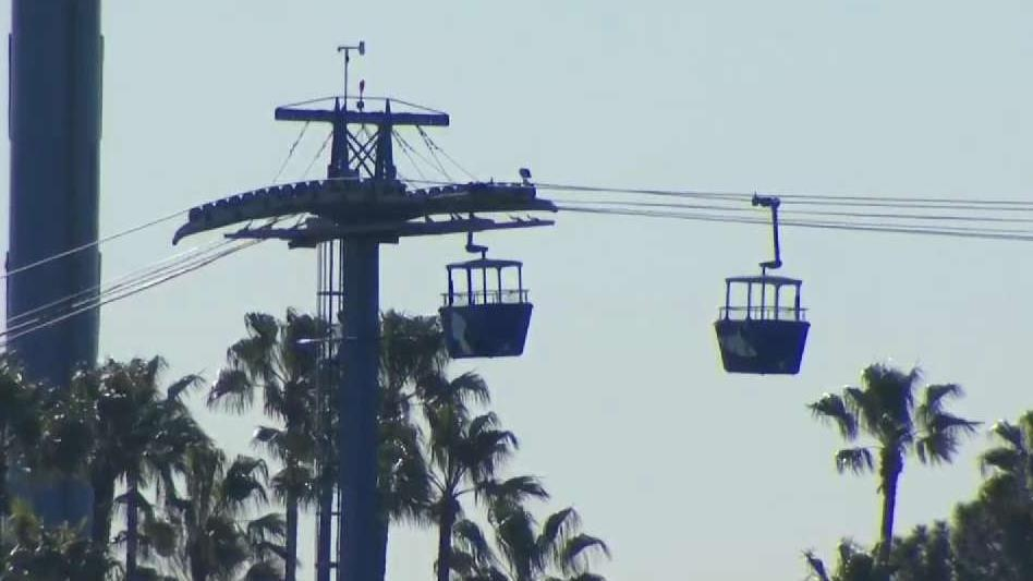 Trapped for Hours, Guests Rescued on SeaWorld Gondola Ride