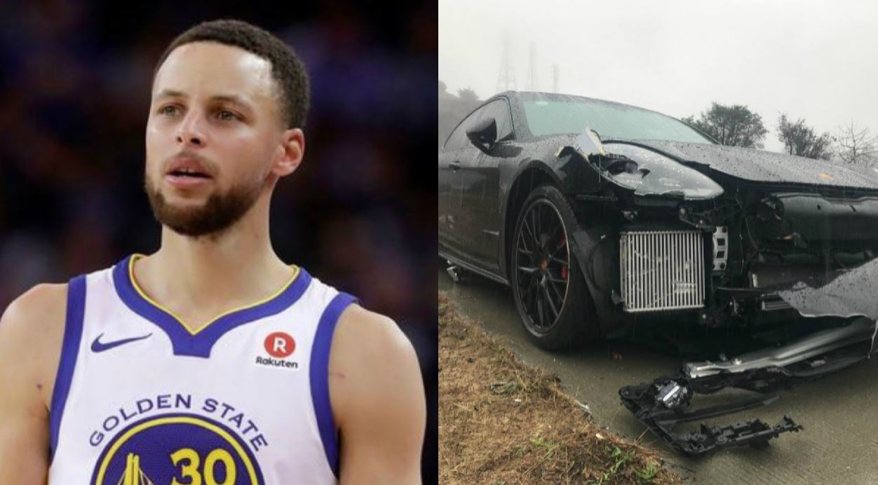 Golden State Warriors star Stephen Curry was involved in a multi-car crash Friday right before 9 a.m. on Highway 24 in Oakland, according to the Oakland CHP.