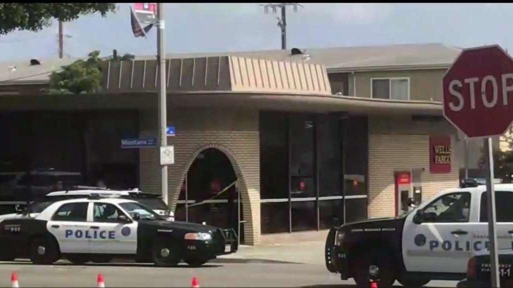 Masked Bank Robber in Santa Monica Sought