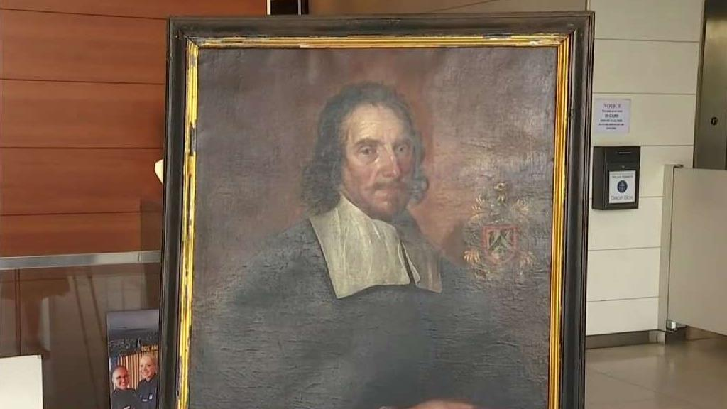 Stolen Painting Recovered After Almost 30 Years
