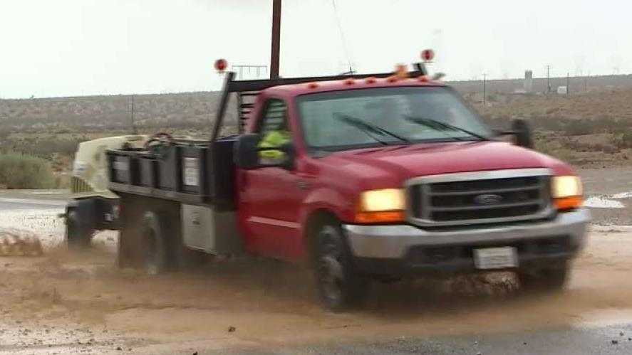 Summer Storms Flooding Areas in IE, High Desert