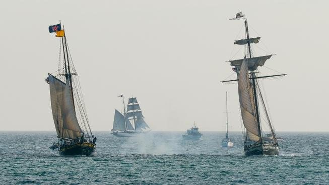 Stately Ships to Tell a 'Tall' Tale in Dana Point