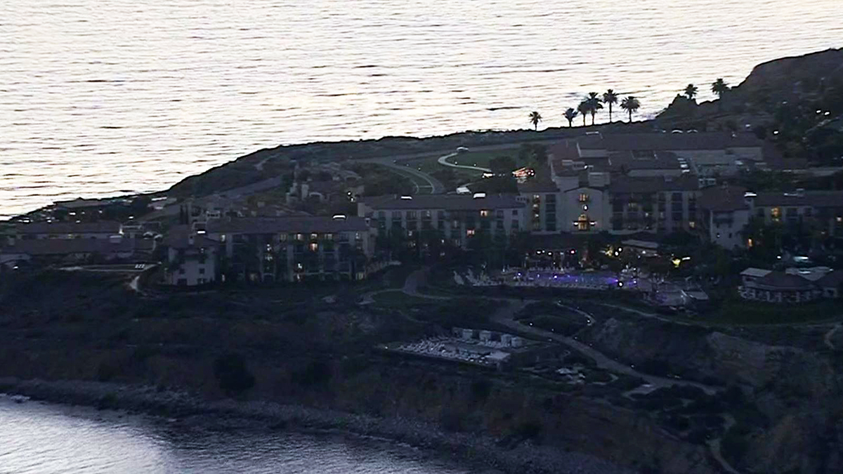 Terranea Resort sits on the edge of the cliffs in Rancho Palos Verdes.