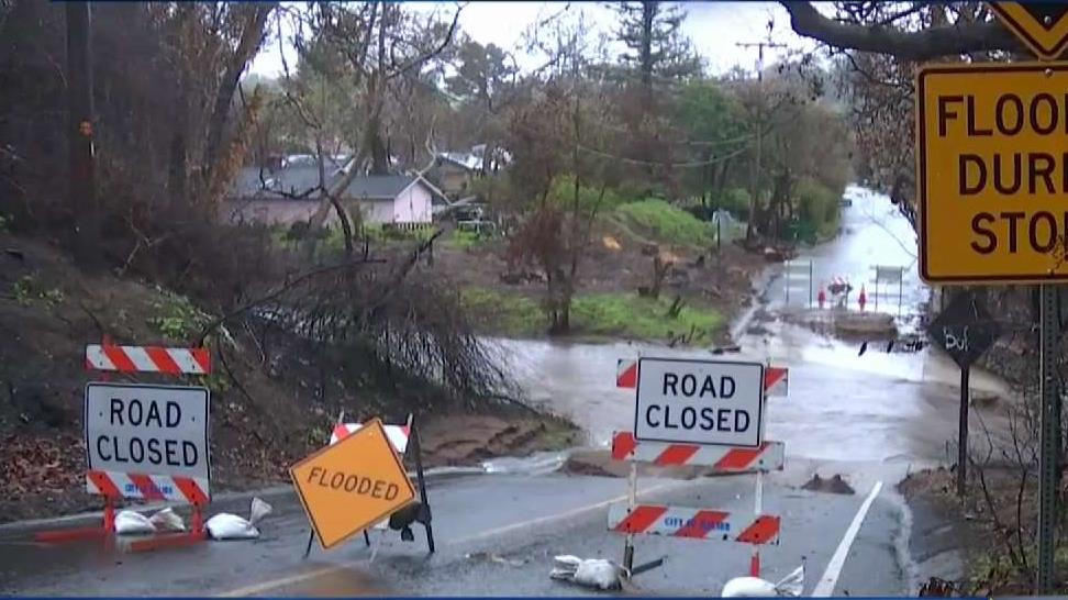 Topanga Canyon Roads Affected by Landslides and Rockfalls.