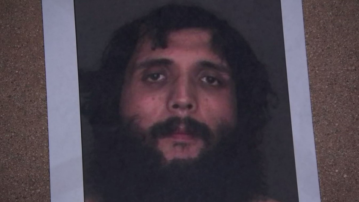 A photo of Armando Ramirez Jr., who is accused of violently beating a woman hours after he was released from jail.