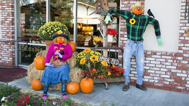 Heading up for Oktoberfest or fall colors? Stop by the village to see these fall favorites.