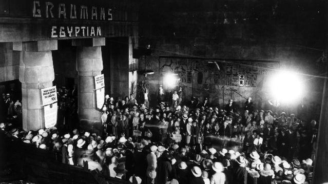 Sid Grauman's opulent Egyptian Theatre opened on Hollywood Boulevard in 1922, but the theater found new life with American Cinematheque beginning on Dec. 4, 1998, following a large-scale renovation. The film society celebrates its 20 years at the landmark on Dec. 7, 2018.