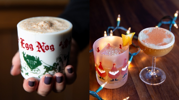 Here and Now, an Arts District bar, is wearing its best North Pole look, through Dec. 31, all to send seasonal and spirited cheer to those 21-and-over guests who visit. The pop-up bar's name? Blitzen's.