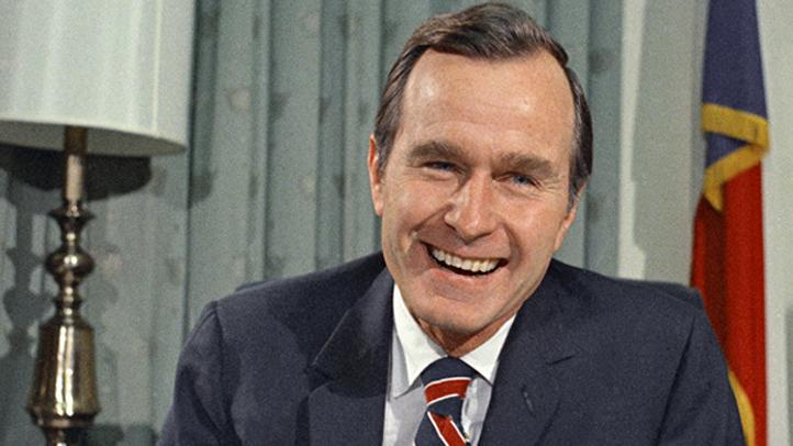George H. Bush, newly appointed United Nations Ambassador shown Dec. 18, 1970. (AP Photo/John Duricka)