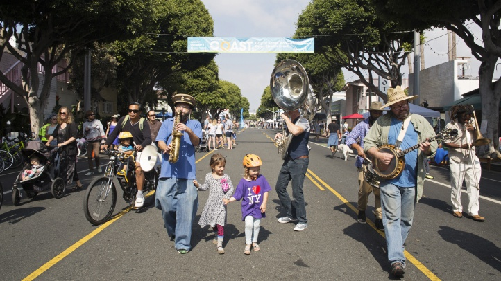 Stroll or cycle along two miles of vehicle-free streets on Sunday, Oct. 7.