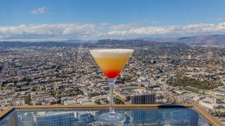 The drinks'll be Halloween-themed at a pre-holiday adult-fun bash at OUE Skyspace LA on Friday, Oct. 26.