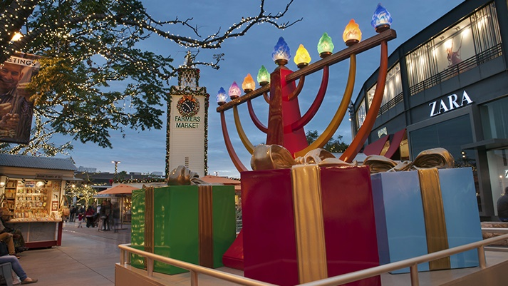 Celebrate at the Third & Fairfax landmark while building a LEGO menorah, listening to stories and songs, and enjoying an afternoon of kid-cute, family-fun to-dos on Sunday, Dec. 2.