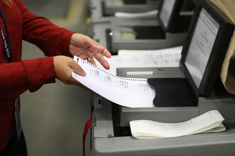 A file photo of a ballot.