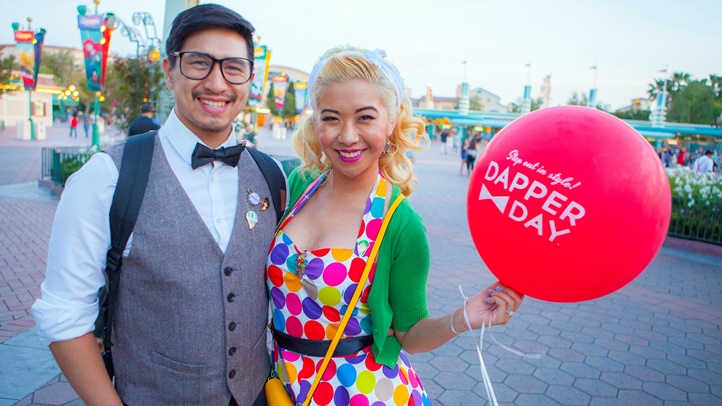 Dapper Day returns to the Anaheim theme parks on Sunday, Nov. 4. A two-day expo sets up dressy shop at the Disneyland Hotel on Nov. 3 and 4, 2018.