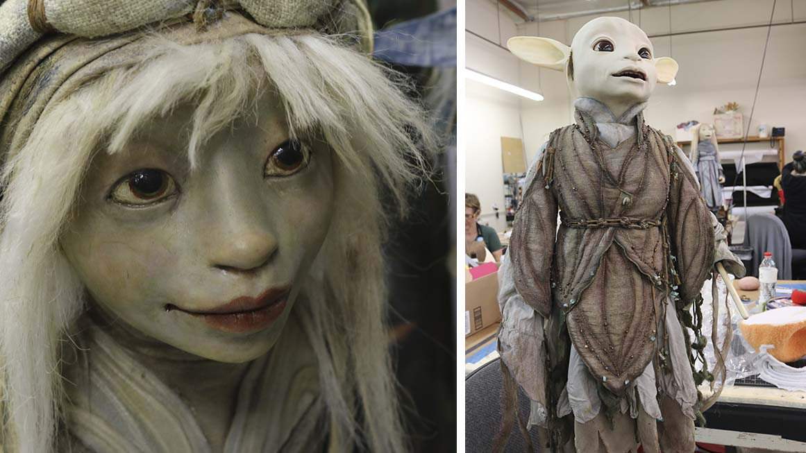 Here's a Rare Look Inside the Henson Company Creature Shop for 'The Dark Crystal: Age of Resistance'