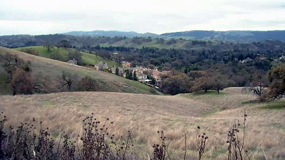 The foothills of Mount Diablo are one of several areas in the state that are considered trouble zones for wildfires.