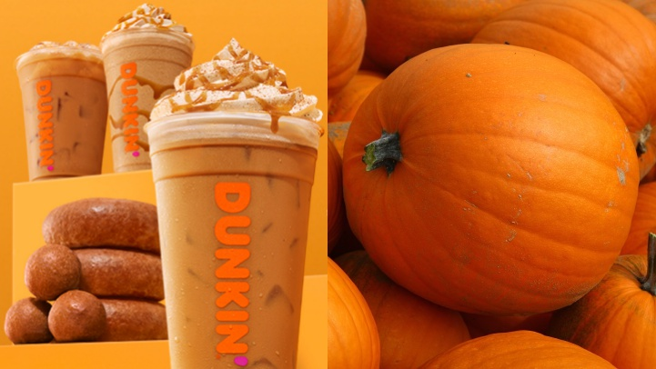 Everything's Coming Up Pumpkin at Dunkin'