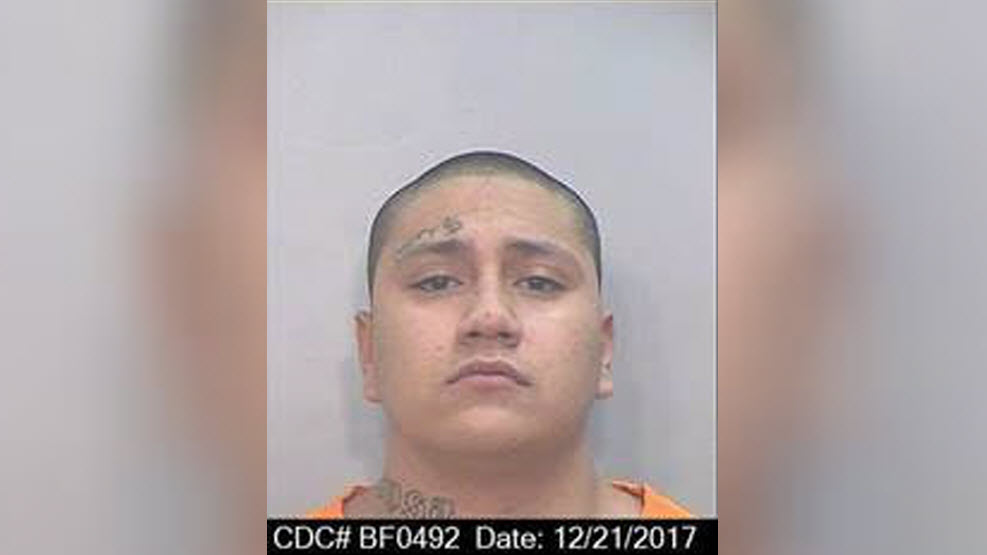Shalom Mendoza, 21, escaped from San Quentin State Prison and then may have carjacked someone nearby on Wednesday night, according to prison officials.