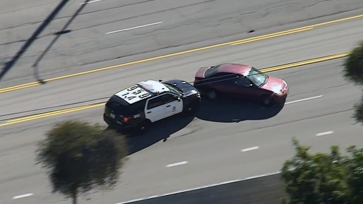 A pursuit driver, possibly in a stolen Honda, kept going despite four PIT maneuver attempts by police Jan. 3, 2019.