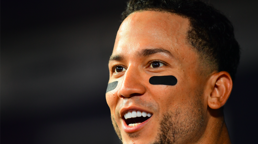 Carlos Gonzalez #5 of the Colorado Rockies told reporters that he hates the Randy Newman song,