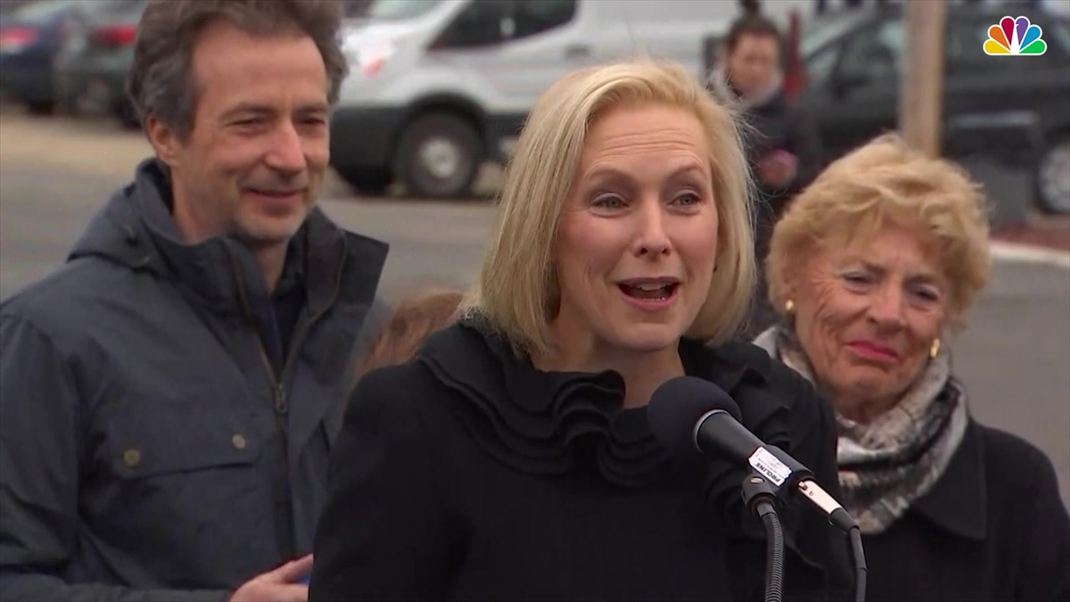 Kirsten Gillibrand announces intention to run for presidency