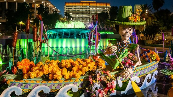 Enjoy exquisite, marigold-marvelous displays, through Nov. 4, 2018, at the downtown destination.