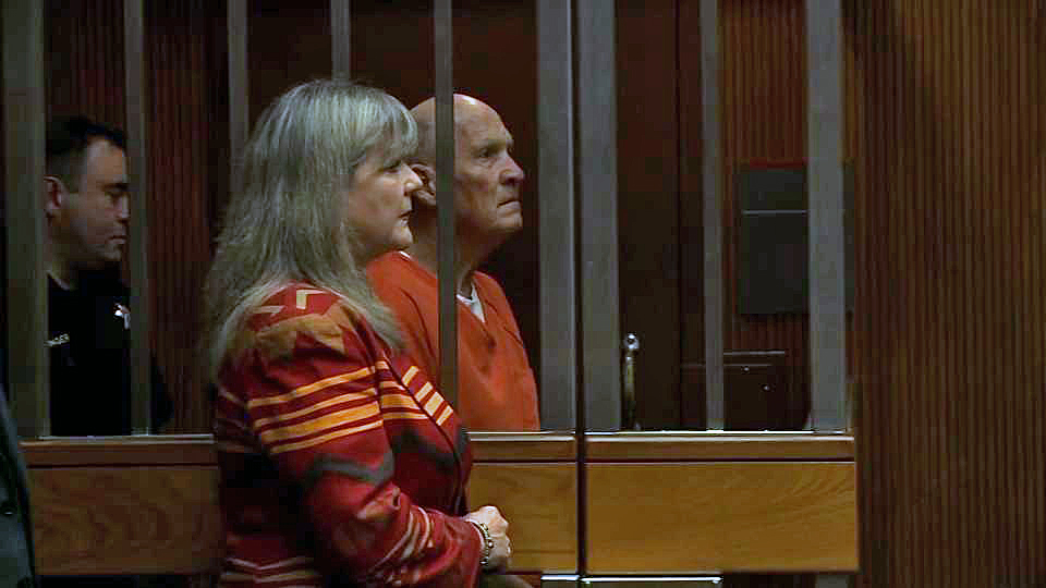 Accused serial killer and rapist Joseph DeAngelo appears in court Thursday, July 12, 2018.