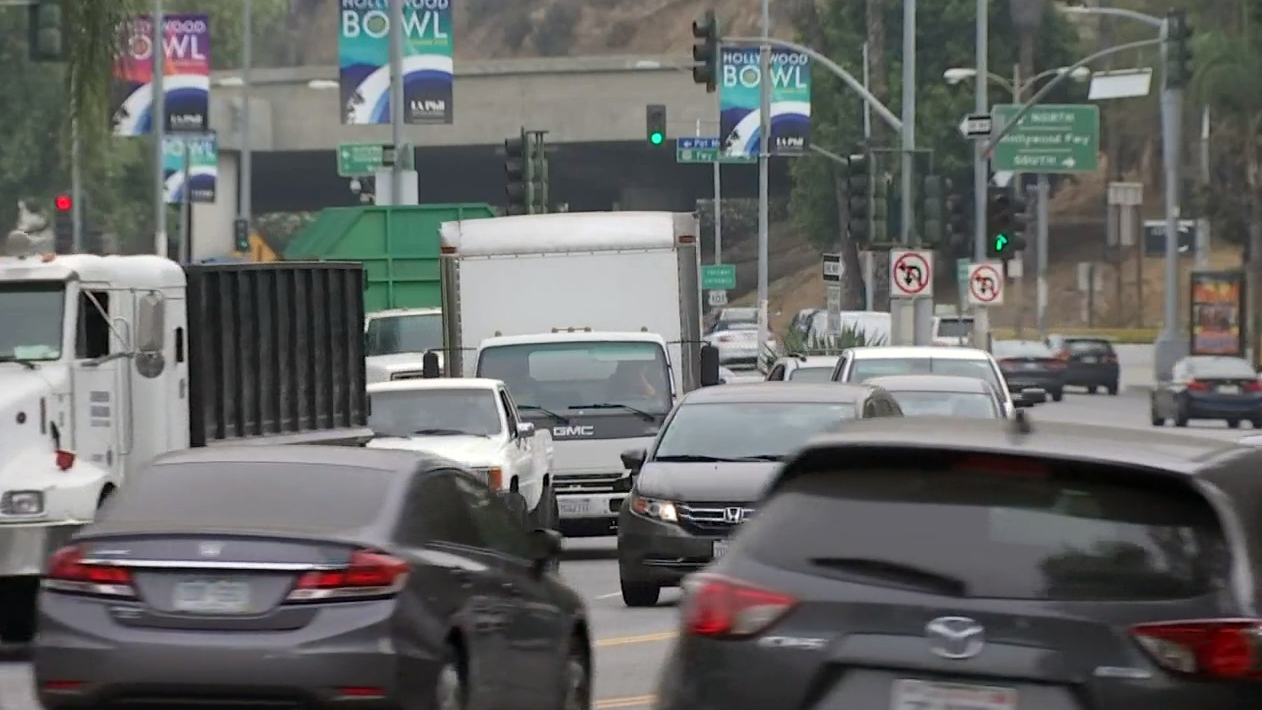 Hollywood Bowl concert traffic has long been a source of frustration for residents, but a new experimental program closing roads aims to help with that.