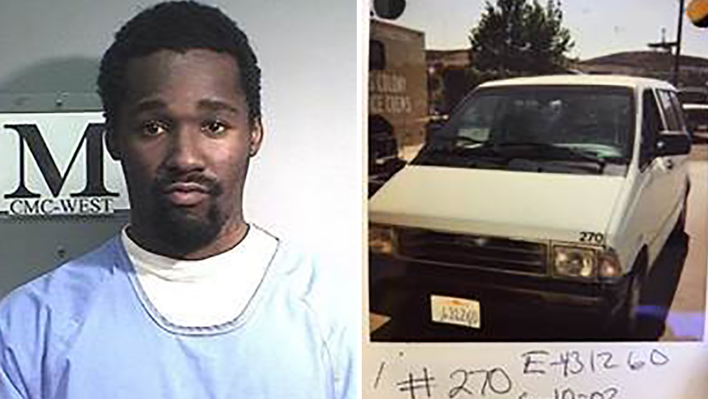 Inmate David Gray Hall and a white state-owned van went missing Tuesday morning during count from California Men's Colony (CMC) in San Luis Obispo, Oct. 30, 2018.