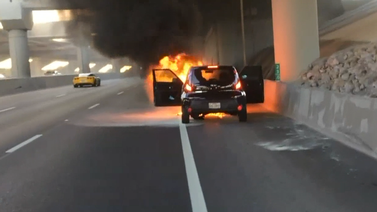 After popular cars have been catching fire randomly, customers want answers or a recall. Advocates are telling them to keep fire extinguishers in their cars in the meantime.