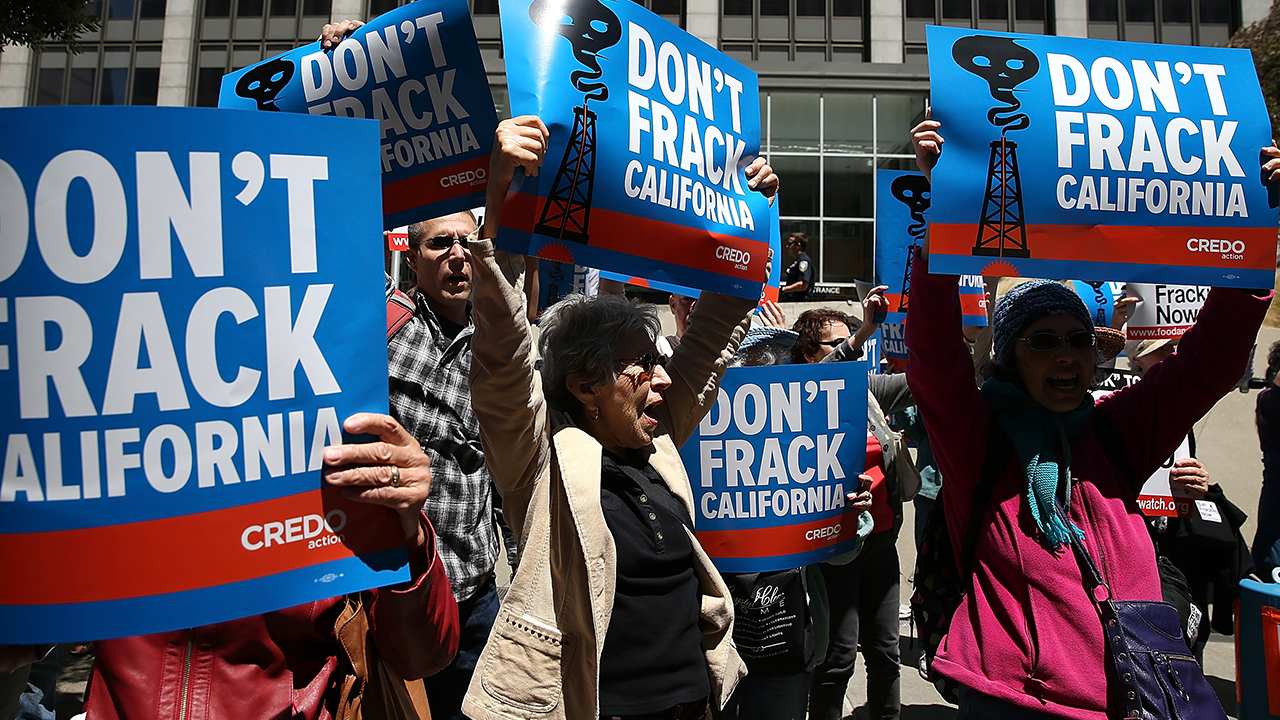 California Sues Trump Administration Over Fracking Rule