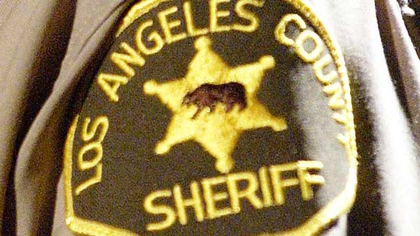 A Los Angeles County Sheriff's Department patch is pictured in this file photo.