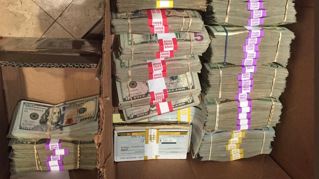 The LAPD announced a $20 million drug bust Thursday Dec. 20, 2018.