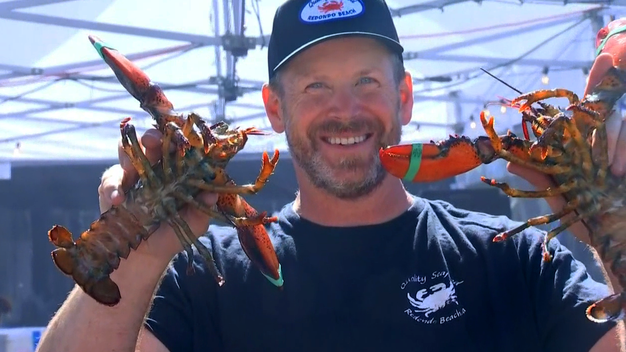 Put your claws up if you love lobster! The Redondo Beach Lobster Rock festival kicked off Friday through Sunday, Sept. 23, 2018.