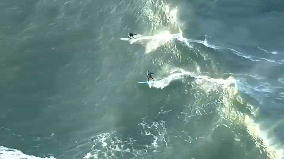 Surfers are getting ready for the Mavericks big-wave surfing contest, likely happening next week. (Dec. 13, 2019)